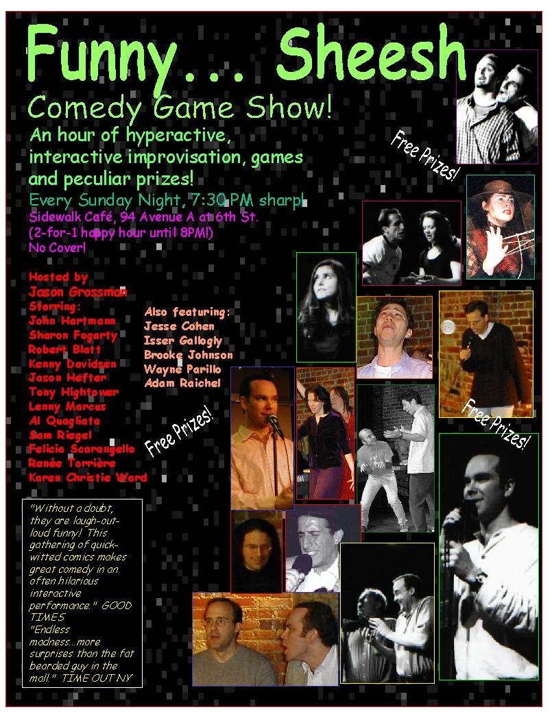FS Game Show Poster