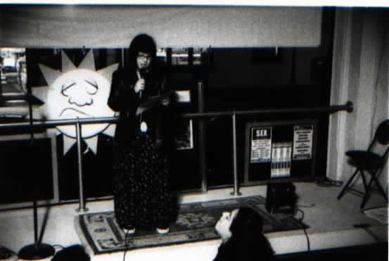 Kelly Sue hosting